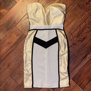 Art Deco flapper dress